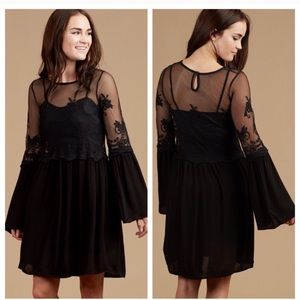 Altar'd State Black Short Dress